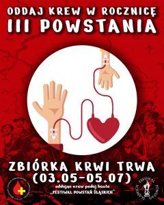 Oddaj Krew w rocznicę III Powstania