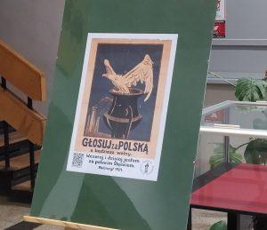 Plebiscytowe plakaty w Bibliotece UO