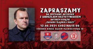 Spotkanie autorskie z Andrzejem Krzystyniakiem 12 czerwca 2021