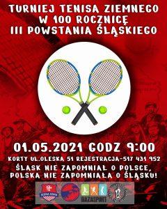 Turniej tenisowy w 100 rocznicę III powstania śląskiego