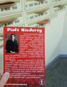Patroni opolskich ulic: Piotr Niedurny