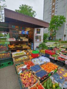 Warzywa i owoce w Opolu przy ul. Matejki